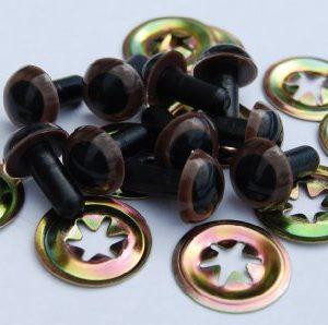 1-Paar-braune-Augen-Metall-Stecker-75-mm-Sicherheits-Augen-fr-Stofftier-Teddybr-ist-oder-0