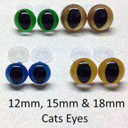 1-Stck-Gold-Cat-Eyes-mit-Kunststoff-Verschlssen-15-mm-Sicherheits-Augen-fr-weiche-Teddybr-ist-oder-0-1