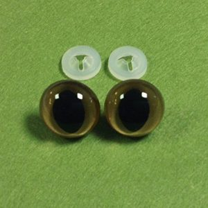 1-Stck-Gold-Cat-Eyes-mit-Kunststoff-Verschlssen-15-mm-Sicherheits-Augen-fr-weiche-Teddybr-ist-oder-0