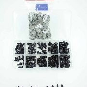 100-tlg-Schwarze-6-12mm-Teddyaugen-Sicherheitsaugen-Kunststoffaugen-Puppe-Augen-0-0