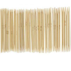 11-Stze-49-Bamboo-Strickhandschuhe-Tricknadeln-20-50-mm-US-0-8-0
