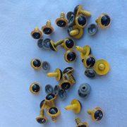 20-Gelbe-Sicherheitsaugen-10-Paar-14mm-Durchmesser-0-0