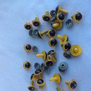 20-Gelbe-Sicherheitsaugen-10-Paar-14mm-Durchmesser-0