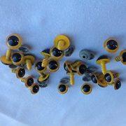 20-Gelbe-Sicherheitsaugen-10-Paar-14mm-Durchmesser-0-2