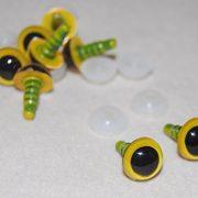 4-Paar-gelbe-Augen-mit-Plastik-Rcken-8-mm-Sicherheits-Augen-fr-weiche-Hundespielzeug-Teddybr-ist-oder-0