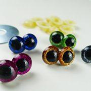 5-Paar-Sicherheitsaugen-glitzer-12-mm-verschiedene-Farben-im-Set-Teddyaugen-glitzer-0-0