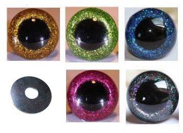 5-Paar-Sicherheitsaugen-glitzer-12-mm-verschiedene-Farben-im-Set-Teddyaugen-glitzer-0