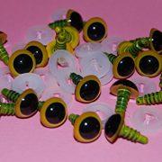 50-Paar-gelbe-Augen-mit-Plastik-Rcken-15-mm-Sicherheits-Augen-fr-weiche-Hundespielzeug-Teddybr-ist-oder-0