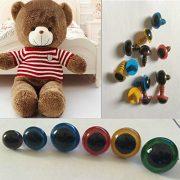 AUAUDATE-100pcs-Kunststoff-Sicherheit-Augen-fr-Teddybr-Handpuppe-DIY-Handwerk-8mm-Mischfarbe-0-2