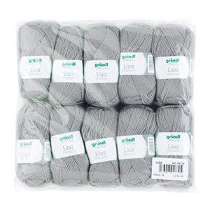 Grndl-760-24-Lisa-Premium-Wolle-Polyacryl-kieselgrau-32-x-27-x-6-cm-0