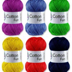 Grndl-Cotton-Fun-Hkelgarn-Schulgarn-100-Baumwolle-SET-1-Bunt-Mix-6-x-50-g-300-g-0