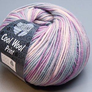 Lana-Grossa-Merino-superfein-Cool-Wool-792-print-50g-Wolle-0