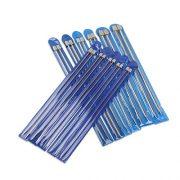PIXNOR-11-Paare-Stricknadeln-Rostfreier-Stahl-Stricknadel-Stricknadeln-Metall-mit-unterschiedlicher-Gre-von-20-mm-25mm-30mm-35mm-40mm-45mm-50mm-55mm-60mm-70mm-80mm-0-0