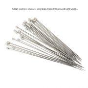 PIXNOR-11-Paare-Stricknadeln-Rostfreier-Stahl-Stricknadel-Stricknadeln-Metall-mit-unterschiedlicher-Gre-von-20-mm-25mm-30mm-35mm-40mm-45mm-50mm-55mm-60mm-70mm-80mm-0-3